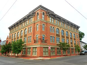 Huntingdon, Pennsylvania - Image: 4th and Washington Huntingdon PA