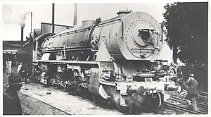 New South Wales D57 class locomotive - Image: 5701 at Clyde 1929