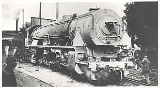 4-8-2 - NSWGR D57 class No. 5701