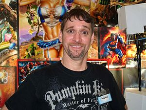 Greg Horn - Horn at the 2013 Wizard World New York Experience in Manhattan.