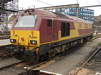 Route availability - With its relatively high axle load, the Class 67 locomotive has a somewhat limited Route availability of 8