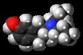 7-OH-DPAT molecule spacefill.png