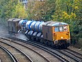 73136 and 73119 Tonbridge West Yard - Tonbridge West Yard 6W75 RHTT (15280293110).jpg