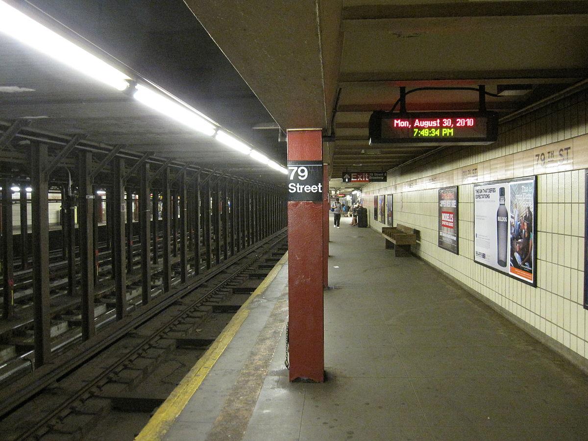 72nd Street Subway Map.79th Street Station Irt Broadway Seventh Avenue Line Wikipedia