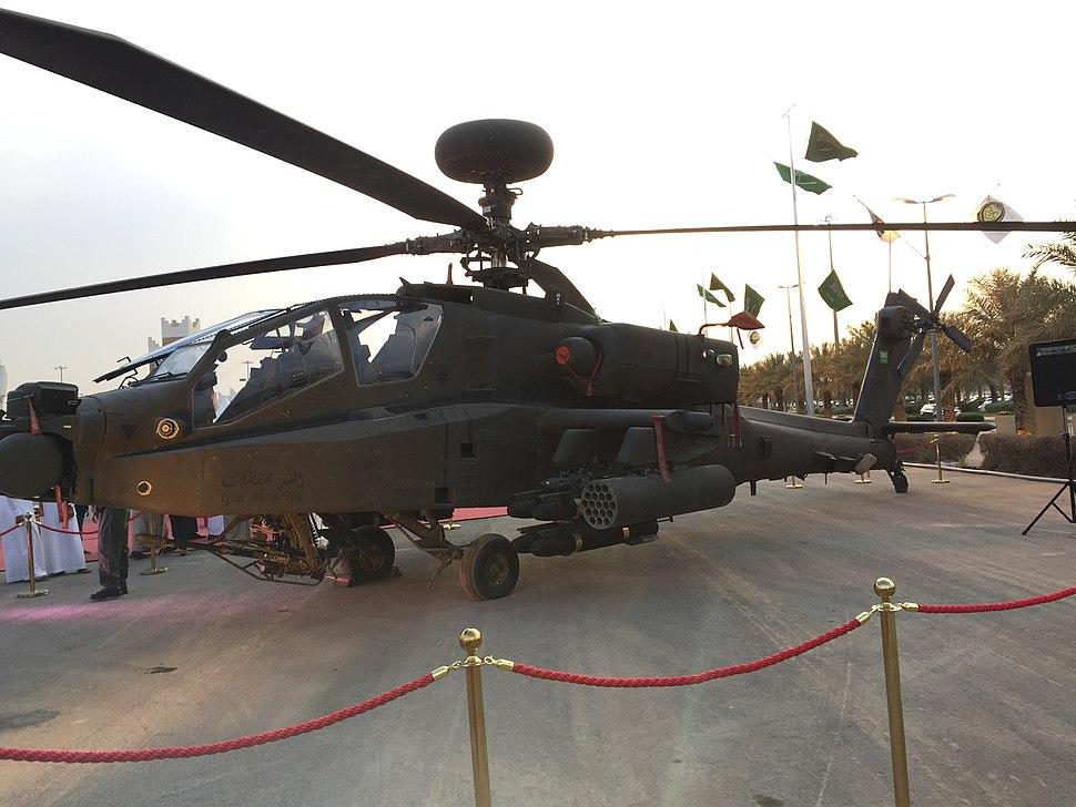 8- Saudi Arabian National Guard AH-64 Apache (My Trip To Al-Jenadriyah 32)