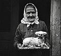 80-letna Urška- godovnica z darom 1951.jpg