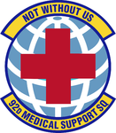 92 Medical Support Sq emblem.png