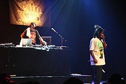 Murs (a destra) con 9th Wonder