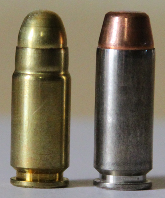 9×25mm Dillon - Image: 9x 25and 10mm