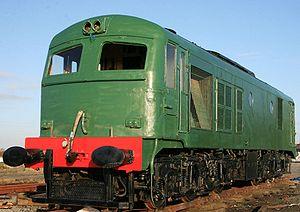 CIE 001 Class - 015 restored at Moyasta Junction, March '09