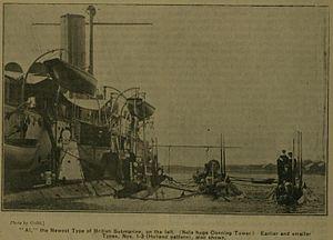 HMS A1 - Image: A1 Submarine May 1904
