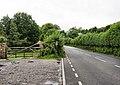 A4118 East of Penmaen - geograph.org.uk - 1492027.jpg