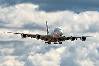 Kroppen på en Airbus A380 består till stor del av aluminium.