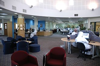 Higher Colleges of Technology - Library at Al Ain Men's College