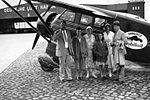 AL79-075 Stinson R cn 8510 NC12157 Mobiloil Hamburg 1932 (14121311218).jpg