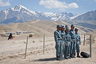 Bamyan Province - Afghan National Police (ANP)