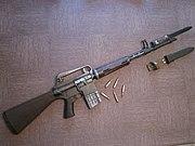 AR10 Armalite vue d'ensemble