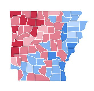 United States presidential election in Arkansas, 2000 - Image: AR2000