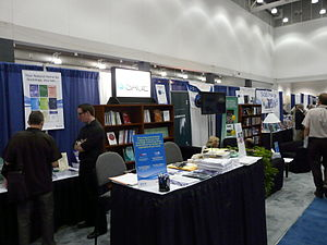 SAGE Publications - 2008 conference booth