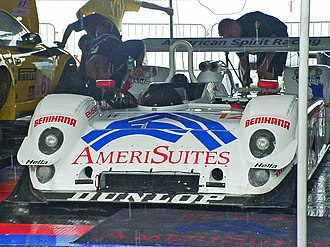 Riley & Scott - A Riley & Scott Mk III C seen used in the American Le Mans Series in 2003.