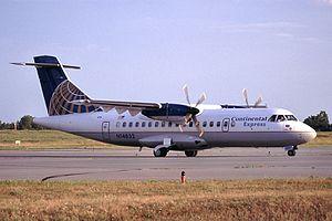 Continental Express - A Continental Express ATR 42