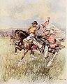 A Kirghiz wooing, c. 1913.jpg