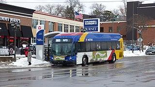 Metro A Line Bus Rapid Transit line