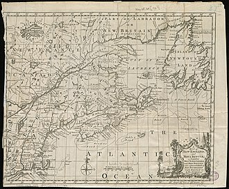 Expulsion of the Loyalists - Province of Nova Scotia before the separation