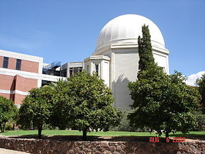 Steward Observatory - The observatory on the campus of the University of Arizona in Tucson