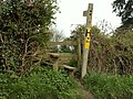 A stile and footpath just south of Goodwin's Farm - geograph.org.uk - 779784.jpg