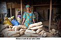 A woman selling Yam tubers.jpg