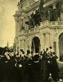 A zágrábi horvát nemzeti szinház zárkövének letétele 1895.png