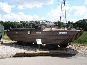 DUKW - DUKW at the Eden Camp museum, England