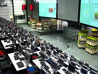 Royal FloraHolland - FloraHolland Aalsmeer auction room.
