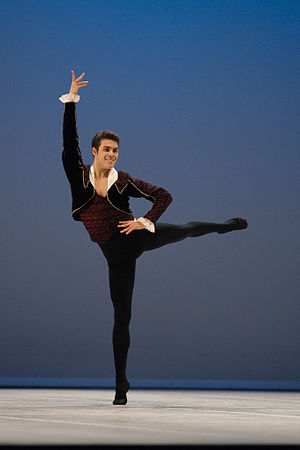Don Quixote (ballet) - Aaron Smyth as Basilio in 2010