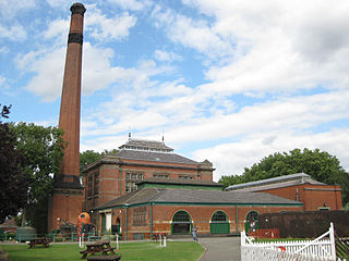 Abbey Pumping Station Science and Technology Museum in Leicester, United Kingdom