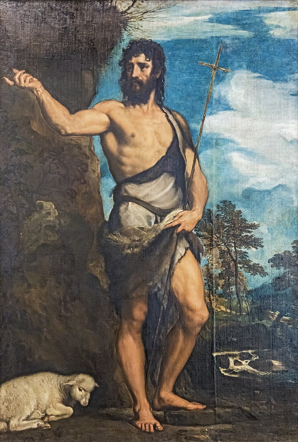 Accademia - St John the Baptist by Titian Cat314