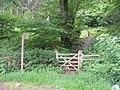 Access to Graig Blaenavon Community Woodland - geograph.org.uk - 469231.jpg