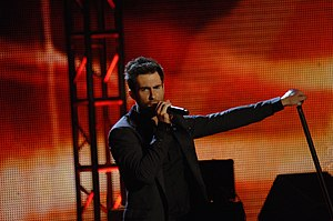 "This Love (Maroon 5 song) - Adam Levine singing ""This Love"" at the 2009 Neighborhood Inauguration Ball"