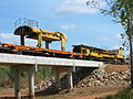 Adelaide - Darwin railway line construction at Livingstone Airstrip (2).jpg