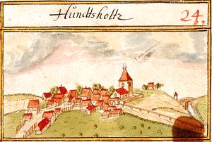 Adelberg - Hundsholz, 1685