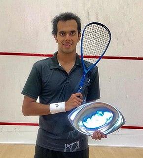 Aditya Jagtap Indian squash player