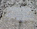 Admiral Nelson Memorial Stone inscription, Taynuilt. Argyll and Bute, Scotland.jpg