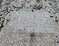 Admiral Nelson Memorial Stone inscription, Taynuilt. Argyll and Bute, Scotland.jpg