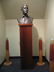 Admiral Raymond A. Spruance bust 01