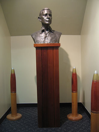 Raymond A. Spruance - Bust of Admiral Spruance, located in Spruance Hall at the U.S. Naval War College