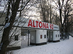 Altonaer FC von 1893 - Image: Adolf Jaeger Kampfbahn 26DEC2005