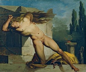 Adrastus (son of Gordias) - Adrastos slays himself on Atys' tomb (1776)