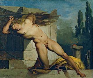 son of Gordias, king of Phrygia