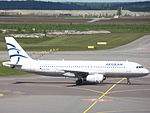 Aegean Airlines Airbus A320-232 SX-DVN at HEL 05JUN2015 02.JPG